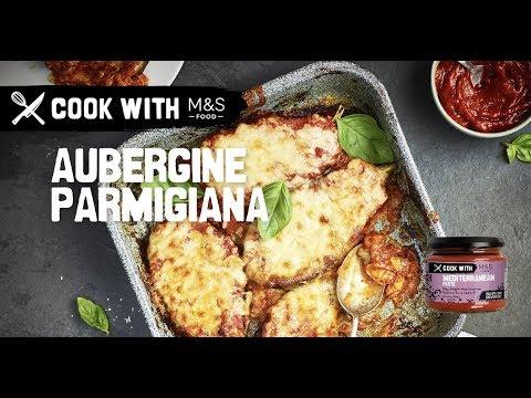 M&S   Cook with M&S ... easy Aubergine Parmigiana
