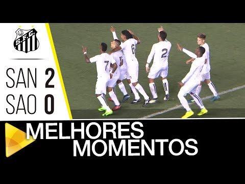Santos 2 x 0 São Paulo | MELHORES MOMENTOS | Brasileiro de Aspirantes (28/11/17)