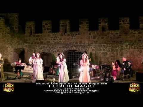 Siam Venuti a Cantar Maggio -  I CERCHI MAGICI (Cerveteri)
