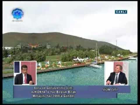 MHP Ilgın Belediye Başkan Adayı Nuri Sarıkaya - Seçim Özel Programı - A2