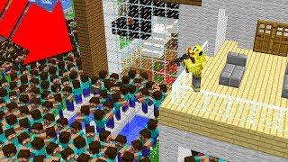 YENİ EVİMDE HEROBRİNE KIYAMETİ! 😱 - Minecraft