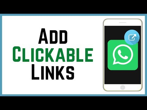 How To Add Clickable Links In WhatsApp Status 2018