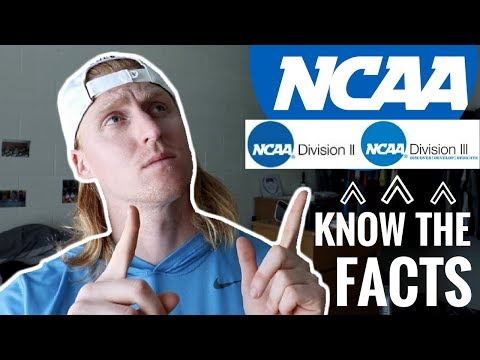 What Is The Difference Between NCAA D1, D2, D3? | VLOG 50