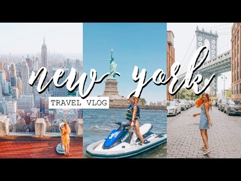New York Travel Vlog 2018 | My FIRST Time In The City!