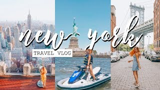 New York Travel Vlog 2018   My FIRST Time In The City!