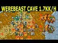 Tibia · Hunt Guide 2019 · Mage 120+ · 1.7KK/H AT 130 · Werebeast Cave Edron (Solo Hunting)