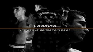 K-1 World Grand Prix 2001 Gameplay K-1 Kings (PlayStation)