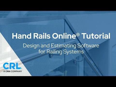 Hand Rails Online® Design & Estimating Software Tutorial thumbnail
