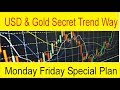 USD & Gold Forex Trend Way | Monday Friday FX Trading Plan by Tani Forex in Urdu and Hindi