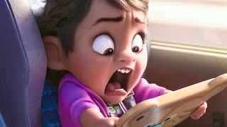 Wreck-it Ralph 2 Baby Moana Easter Egg Scene  2018  Movie Clip