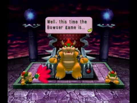 Bowser Games Mario Party 4