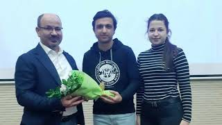 """Radyo Dergisi 1207 - Tıp Fakültesi Öğrencilerine """"Prostat Kanseri Eğitimi"""" Verildi"""