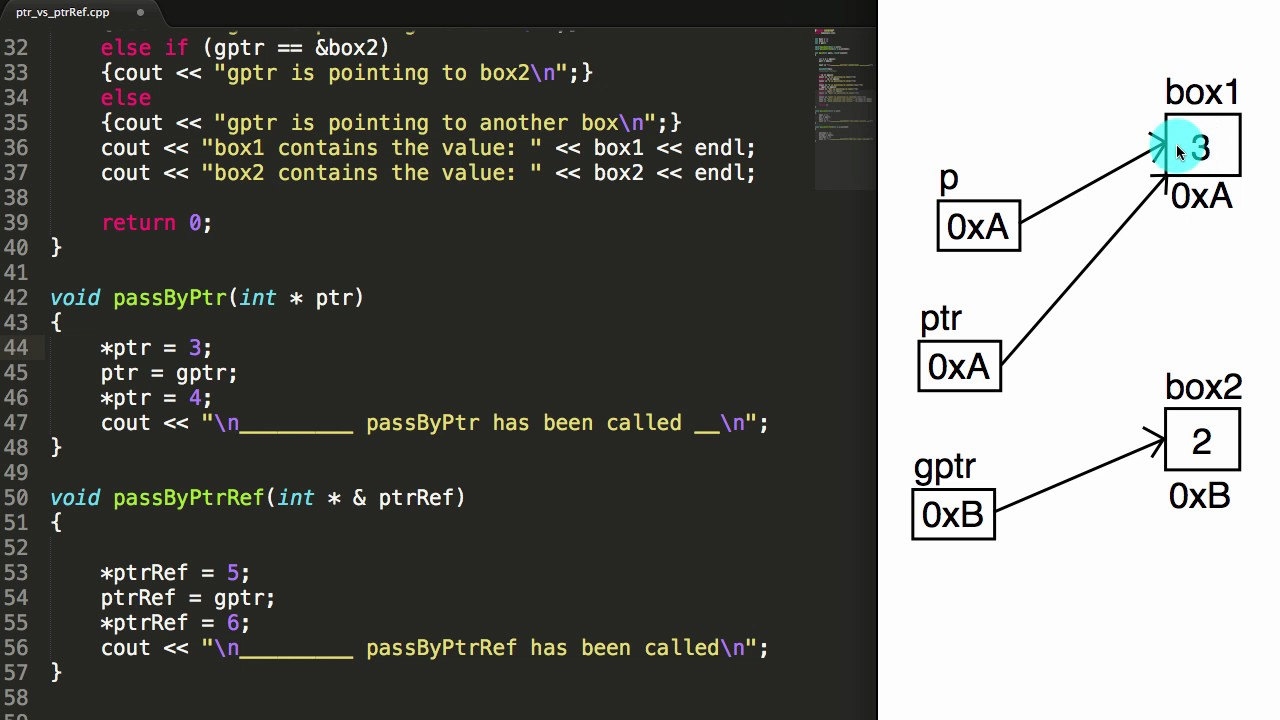 how to pass by reference in c++