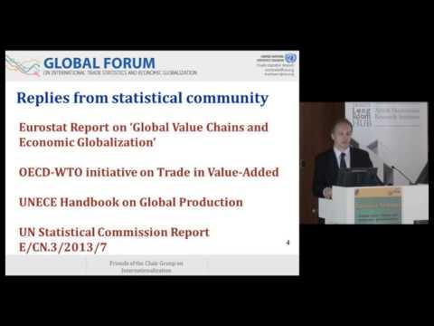 Eurostat Seminar on Globalisation - Ronald Jansen, Chief of UN Trade Statistics branch