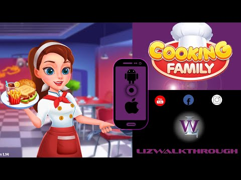 Cooking Family :Craze Madness Restaurant Food Game - Gameplay Mobile - Free Game