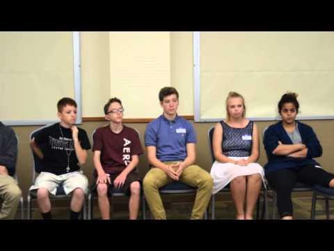 FCD Deaf Teen Panel- video #1