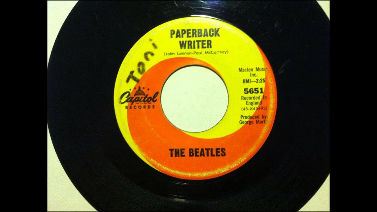 paperback writer beatles youtube Paperback writer is a 1966 song recorded and released by the beatles written by paul mccartney and john lennon (credited to lennon–mccartney), the song was.