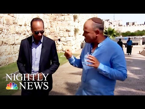 Thumbnail: Solving Israeli-Palestinian Conflict Is 'Golden Grail' Of International Politics | NBC Nightly News