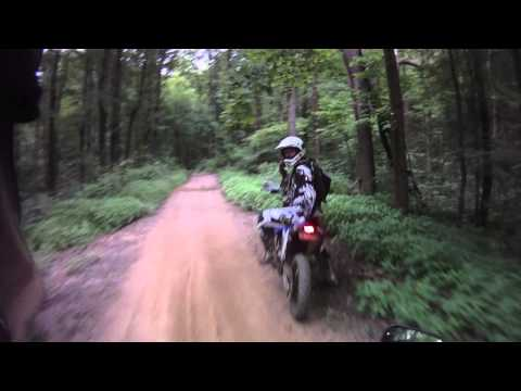 Wayne National Forest APV Trails Clip Video