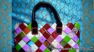 Repeat youtube video How to Make a Bag Out of flower wrapper