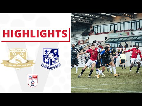 Morecambe Tranmere Goals And Highlights