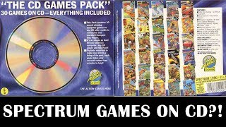 Let's Play Zx Spectrum Games On Cd!   The Codemasters Cd Games Pack Gameplay