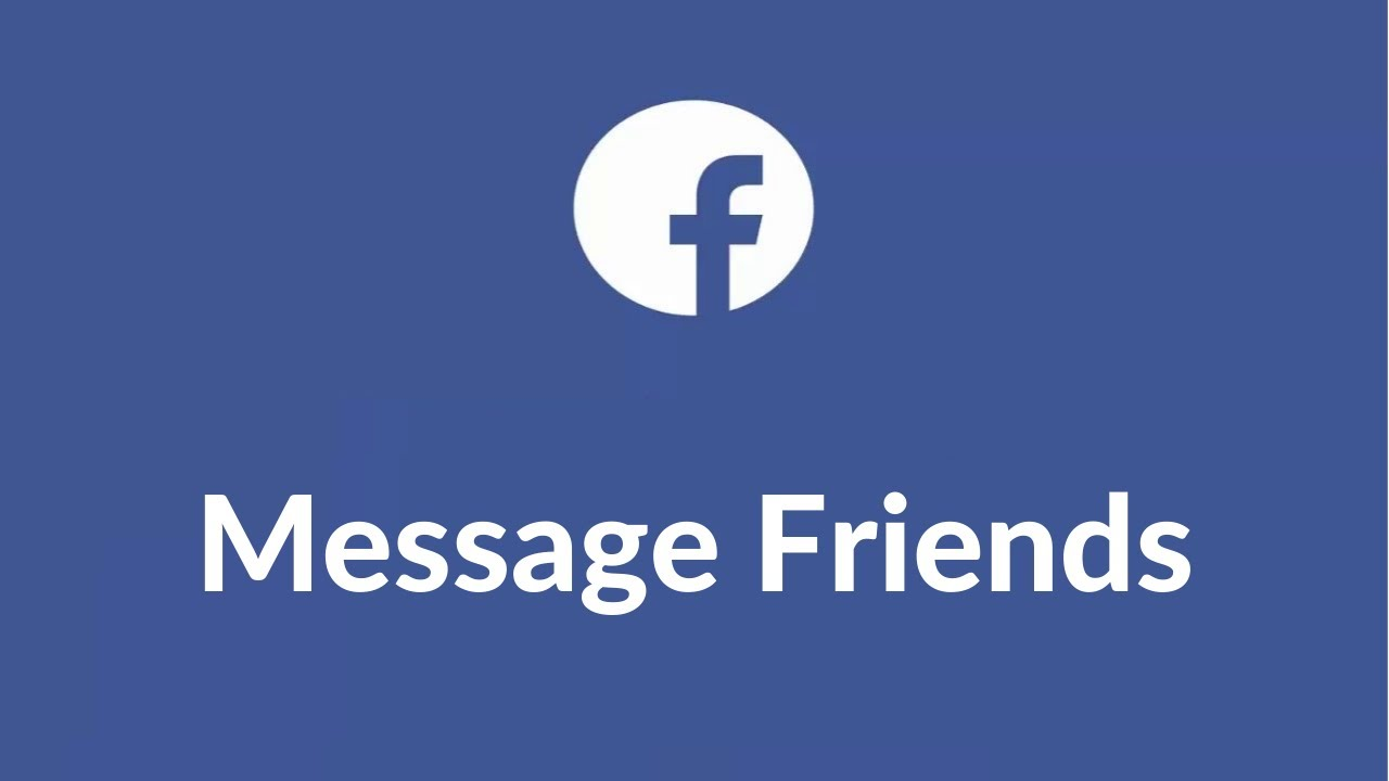 How To Send Message To All Facebook Friends In One Click Youtube