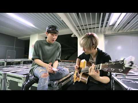 INFINITE WORLD TOUR_SUNG KYU_BACKSTAGE