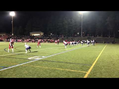St. John's Dan Byers rushes for a score