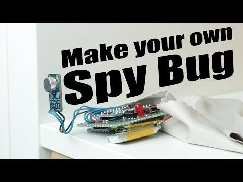 Смотрите сегодня видео новости Make your own Spy Bug (Arduino Voice  Recorder) на онлайн канале Russia-Video-News Ru