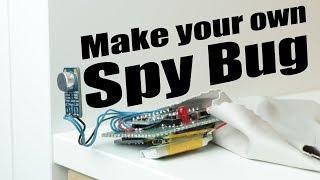 Machen Sie Ihre eigenen Spy Bug (Arduino-Voice-Recorder)