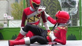 「レッドヒーロー」ショー 2014.8.3 Red Power Rangers Show