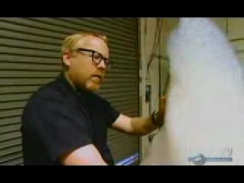 Mythbusters Soapy water + methane