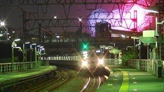 「花火と鉄道」東武スカイツリーラインと足立の花火大会 2019-7-20