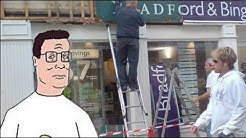 Hank Hill Calls Bradford & Bingley (UK Bank)