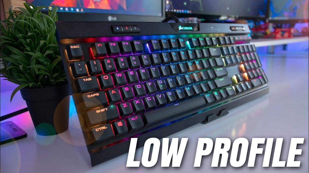Corsair K70 MK2 Low Profile Gaming Keyboard Review