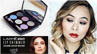 LAKME Illuminate & Shine SILVER Eyeshadow Palette | 1 palette, 4 looks