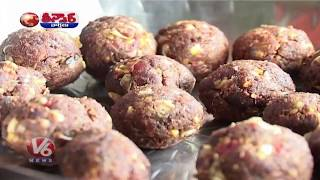 Ippa Puvu Food Festival At Utnoor | Teenmaar News | V6 News