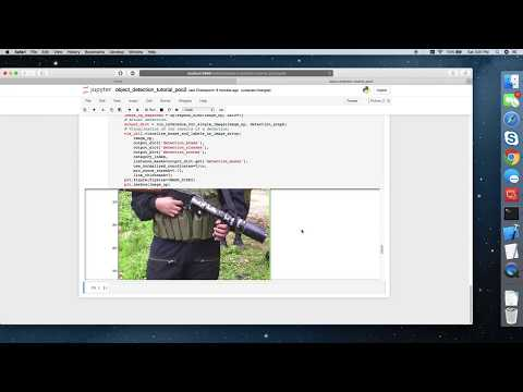 Detecting guns using google tensorlfow...