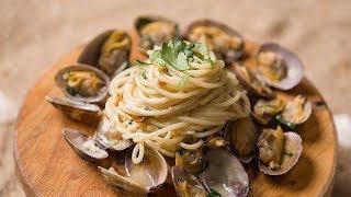 봉골레 파스타 / Vongole Pasta / Camp…