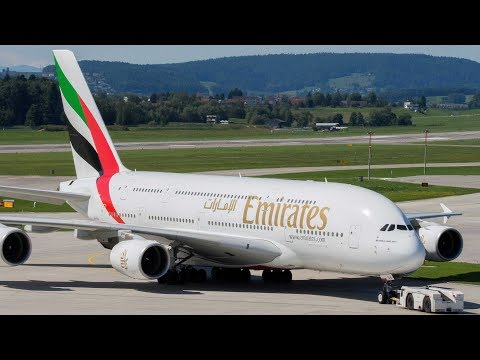 Plane Spotting at Zurich Airport- Switzerland- Afternoon Traffic- Observation Deck E