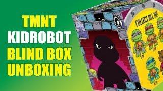 TMNT Kidrobot Blind Box Unboxing
