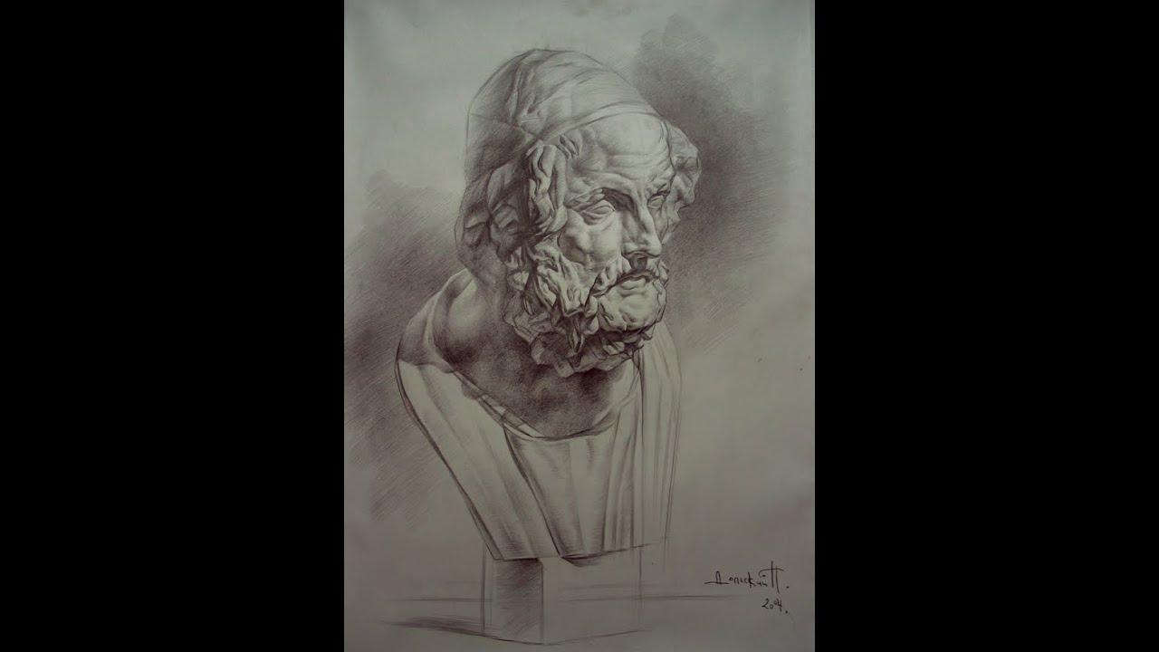 Мастер-класс по рисунку головы