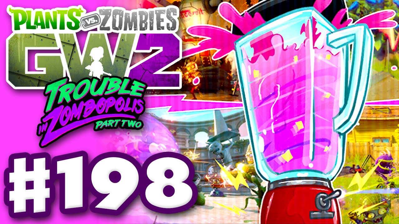 Plants Vs Zombies Garden Warfare 2 Gameplay Part 198 Mixed Mode Pc Youtube