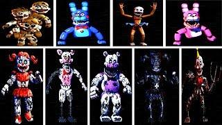Video Baby's Nightmare Circus: All Animatronics & All Jumpscares (EXTRAS) download MP3, 3GP, MP4, WEBM, AVI, FLV Januari 2018