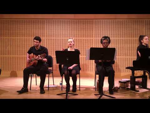 Adelphi World Music Ensemble Madi Singing Paul Simon Proof