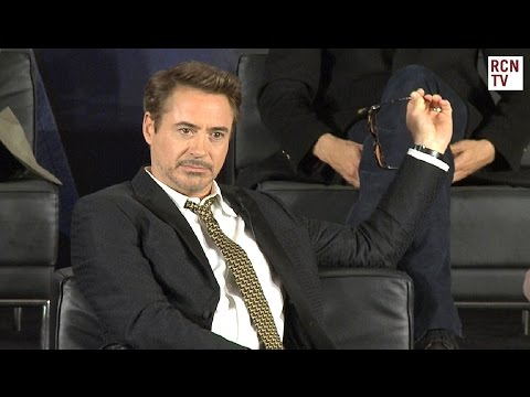 Robert Downey Jr Interview Captain America Civil War Premiere