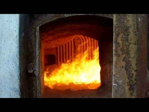 Coal Fired Power Plant, Boiler Furnace Combustion