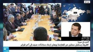 جهاد مقدسي يتحدث عن لقاء لافروف بالمعارضة السورية