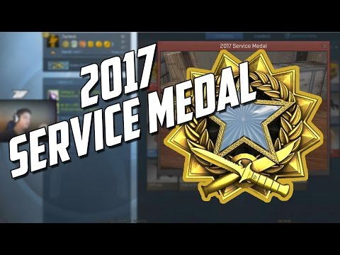 CSGO - 2017 SERVICE MEDAL